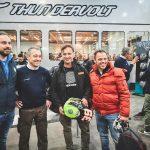 ThunderVolt NK-E Loris Reggiani e Loris Capirossi